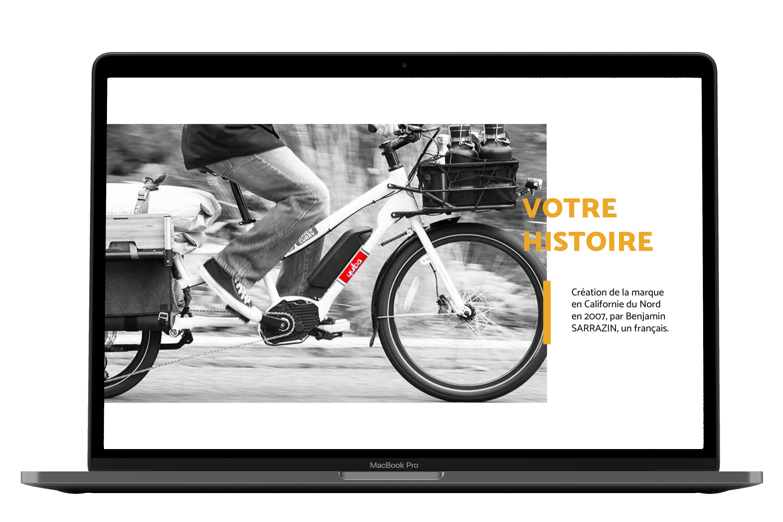 L'histoire Yuba bike